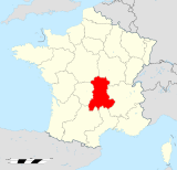 Auvergne region locator map.svg