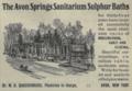 "Avon Springs Sanitarium Sulphur Baths (""American medical directory"", 1906 advert).png"