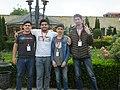 Azerbaijani Wikipedians in Qırmızı Qəsəbə 02.jpg