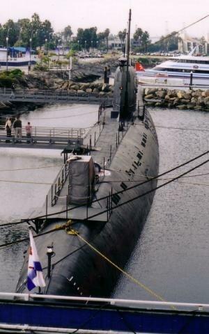 Soviet submarine B-427 - Image: B 427 Scorpion