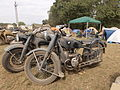 BMW & Zundapp military motorcycle at War & Peace Show.JPG