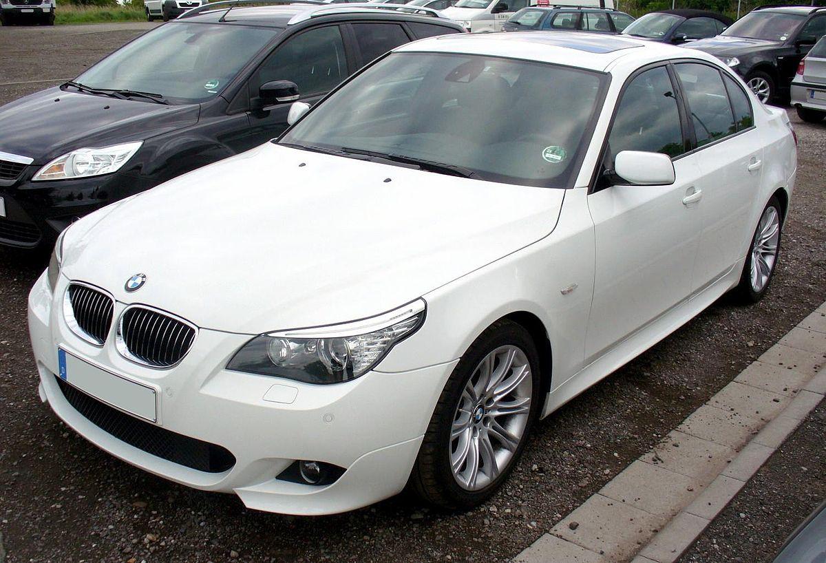 BMW E60 525i M-Sport Alpinweiß.JPG