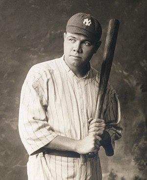 Babe Ruth in 1920 Babe Ruth (cropped).jpg