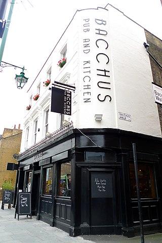 Bacchus Restaurant London