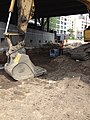 Backfilling a duct bank east of Queens Boulevard for the future Mid-day storage yard. (CQ033, 07-17-2018) (29661636968).jpg