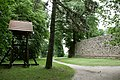 Bad Muskau - Bergsche Kirchruine - Glockenturm 04 ies.jpg