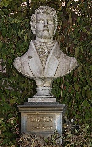 Vasily Zhukovsky - Bust of Zhukovsky in Baden-Baden