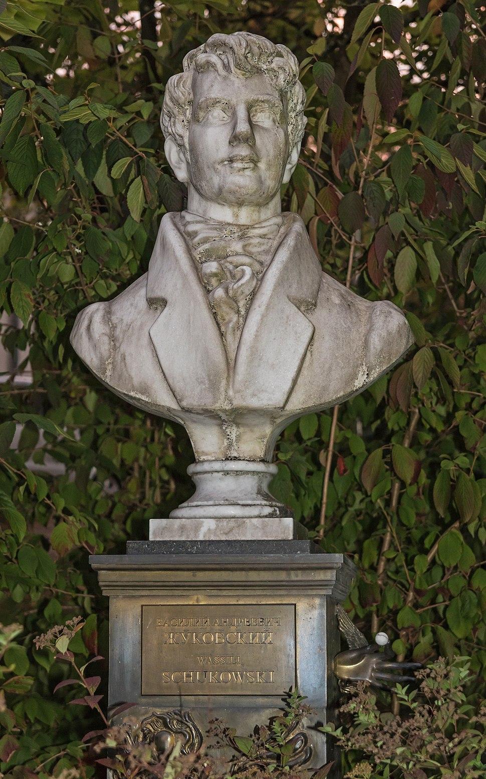 Baden-Baden 10-2015 img28 Zhukovsky bust