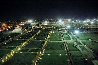 Bagh Ibne Qasim - Bagh Ibne Qasim at night.