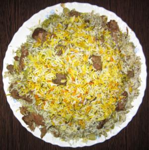 کتاب آشپزی/باقالی پلو - ویکیکتاب