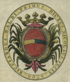 Balbi ex libris with comital heraldic crown.png