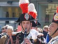 Banda Carabiniere in alta uniforme x 150 anni unità Italia - panoramio.jpg