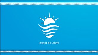 Lobito - Image: Bandeira do lobito 2