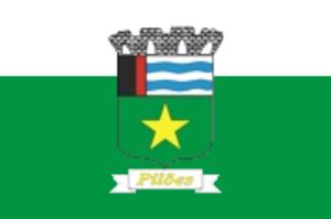 Pilões, Paraíba - Image: Bandeira piloes