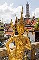 Bangkok Thailand Mythological-being-in-Wat-Phra-Kaew-01.jpg