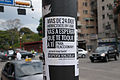 Banner at demonstrations and protests against Chavismo and Nicolas Maduro government 18.jpg