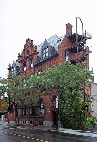 Bank of Montreal National Historic Site - Image: Banque de Montreal Notre Dame et des Seigneurs 05
