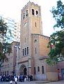 Barcelona - Distrito de Sant Andreu, Barrio de La Sagrera, Iglesia del Crist Rei de Sant Andreu 07.jpg