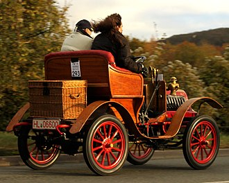 Barré (automobile) - Barré 6HP Two-seater 1903