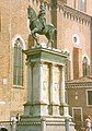 Bartolomeo Colleoni by Verrochio cast by Leopardi on plinth by Leopardi Venice.jpg