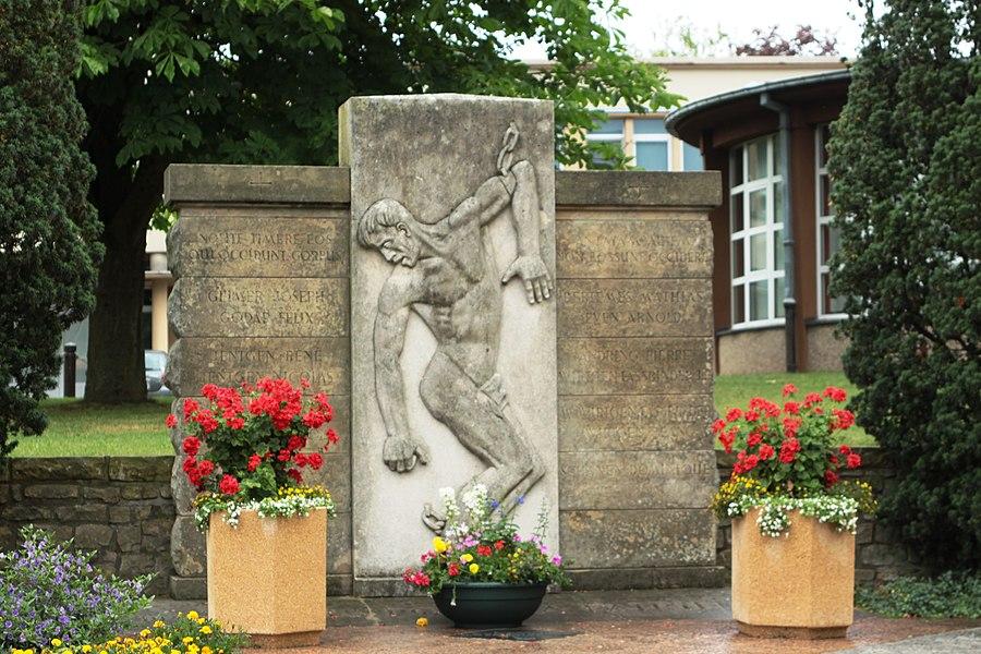 Monument aux morts zu Batreng