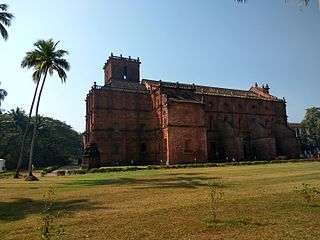 Basilica of Bom Jesus Church in Old Goa, India