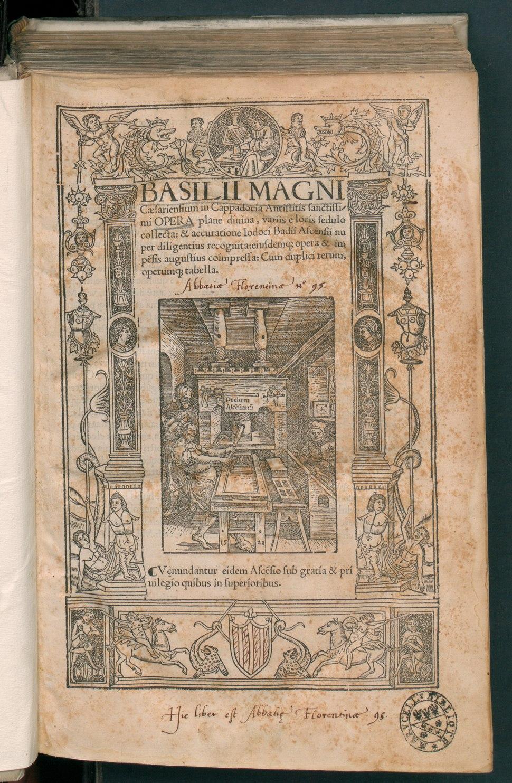 Basilii Magni Opera