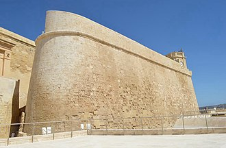 Vittorio Cassar - Cassar directed the upgrading of the Cittadella between 1600 and 1603