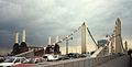 Battersea Power Station and Chelsea Bridge London UK 1992.JPG
