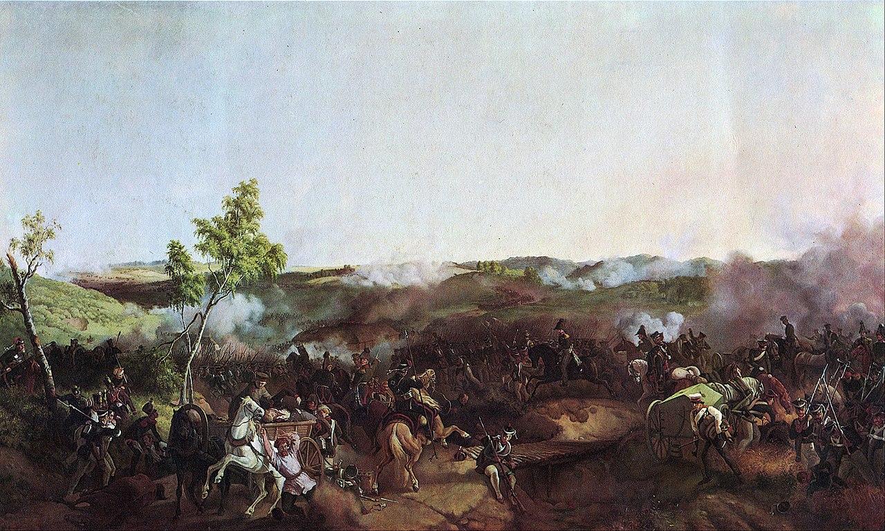 Бой у Валутиной горы. Петер фон Гесс