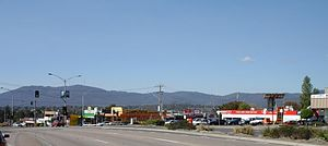 Bayswater, Victoria - Bayswater, Vic, looking east to Mount Dandenong before station upgrade