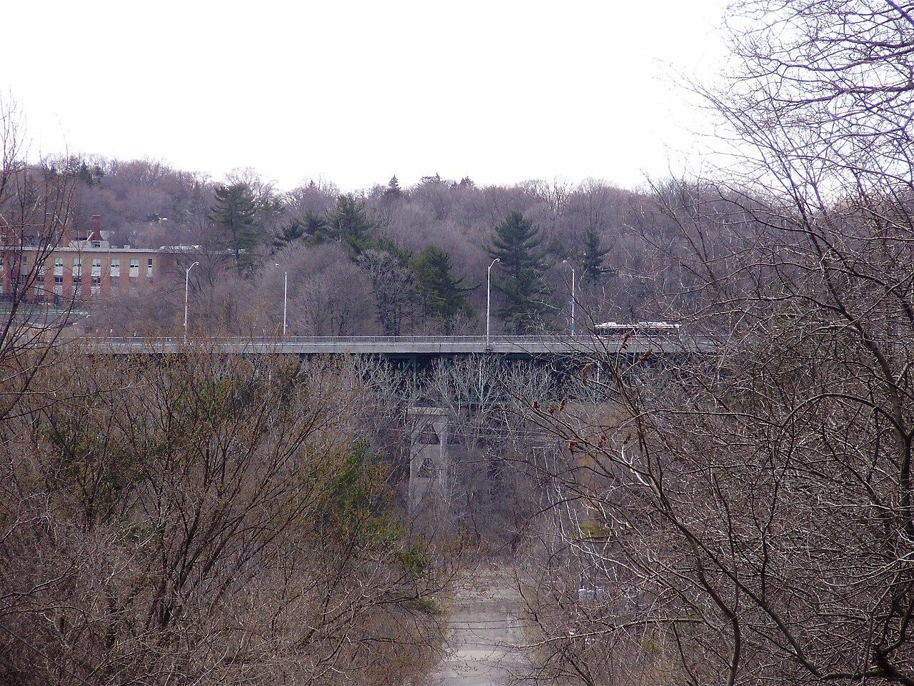 Bayview Bridge in Lawrence Park