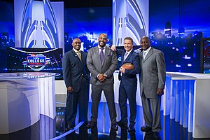Jeremy St. Louis - Group photo - beINSPORTS College Football