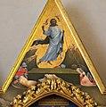 Beato angelico, pala strozzi della deposizione, con cuspidi e predella di lorenzo monaco, cuspide 02.JPG