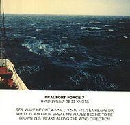 Scala Beaufort, forza 7