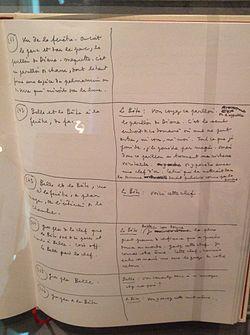 Beauty and Beast script Cocteau