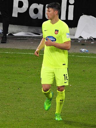 Robin Becker (footballer) - Image: Becker, Robin Heidenheim 16 17 WP