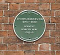 Beddoes plaque, Hope Square, Bristol.jpg
