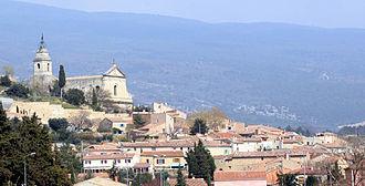 Bédoin - The village of Bédoin