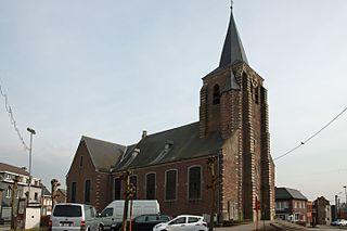 Beerzel Village in Flemish Region