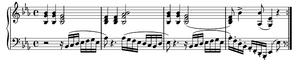 Extracto de la Sonata para piano Opus 27 nº 1 ...