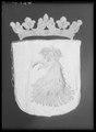 Begravningsbanér, Skåne, förd i Karl X Gustavs begravningståg 1660 - Livrustkammaren - 36024.tif
