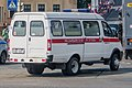 Belarusian van of internal troops looking like ambulance.jpg