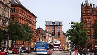 Belfast City Centre - A view of Donegall Square North