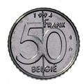 Belgian coin of 50 francs Albert II in Dutch - reverse.TIF