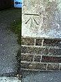 Benchmark on Fordington Methodist Church, Kings Road - geograph.org.uk - 2095745.jpg