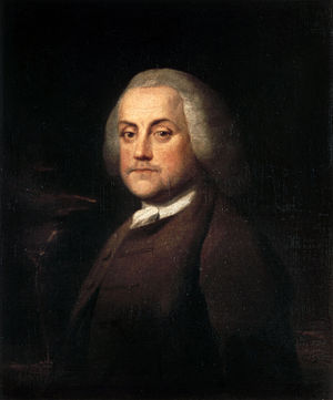 Benjamin Wilson (painter) - Portrait of Benjamin Franklin (1759)