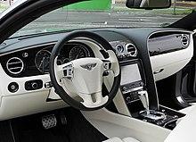 Bentley Continental GT (II) – Innenraum (1), 30. August 2011, Düsseldorf.jpg