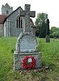Berden St Nicholas churchyard 04 War Memorial.jpg