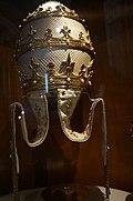 Bergame Colleoni chapel papal tiara of Ioannes XXIII.jpg